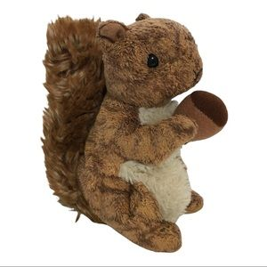 TY NUTTY Squirrel Beanie Baby Retired Collectable Gift Realistic Plush Animals